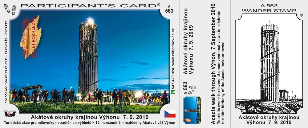 Akátové okruhy krajinou Výhonu  7. 9. 2019