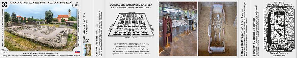 Antická Gerulata v Rusovciach