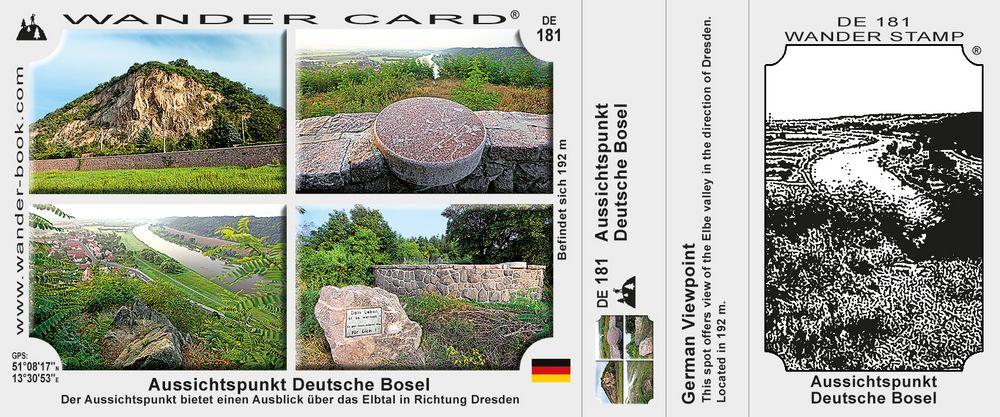 Aussichtspunkt Deutsche Bosel