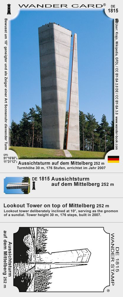 Aussichtsturm auf dem Mittelberg