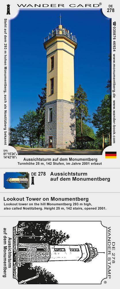 Aussichtsturm auf dem Monumentberg