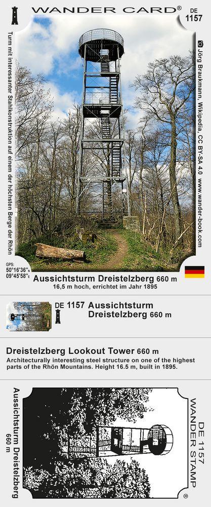 Aussichtsturm Dreistelzberg