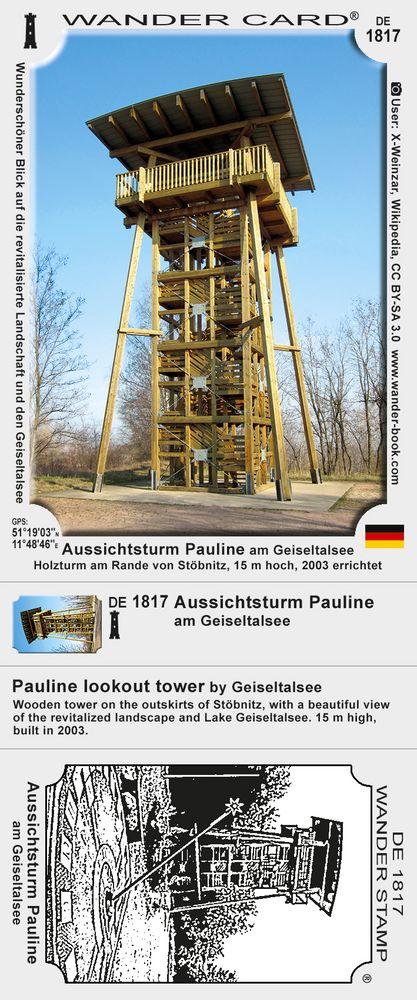 Aussichtsturm Pauline am Geiseltalsee