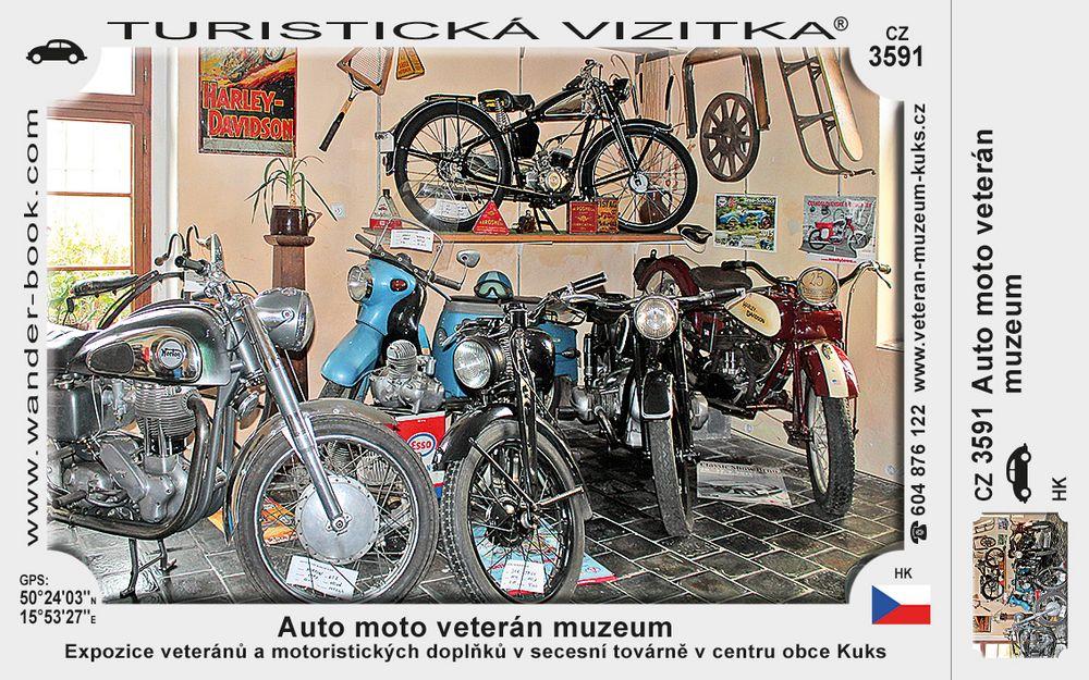 Auto moto veterán muzeum