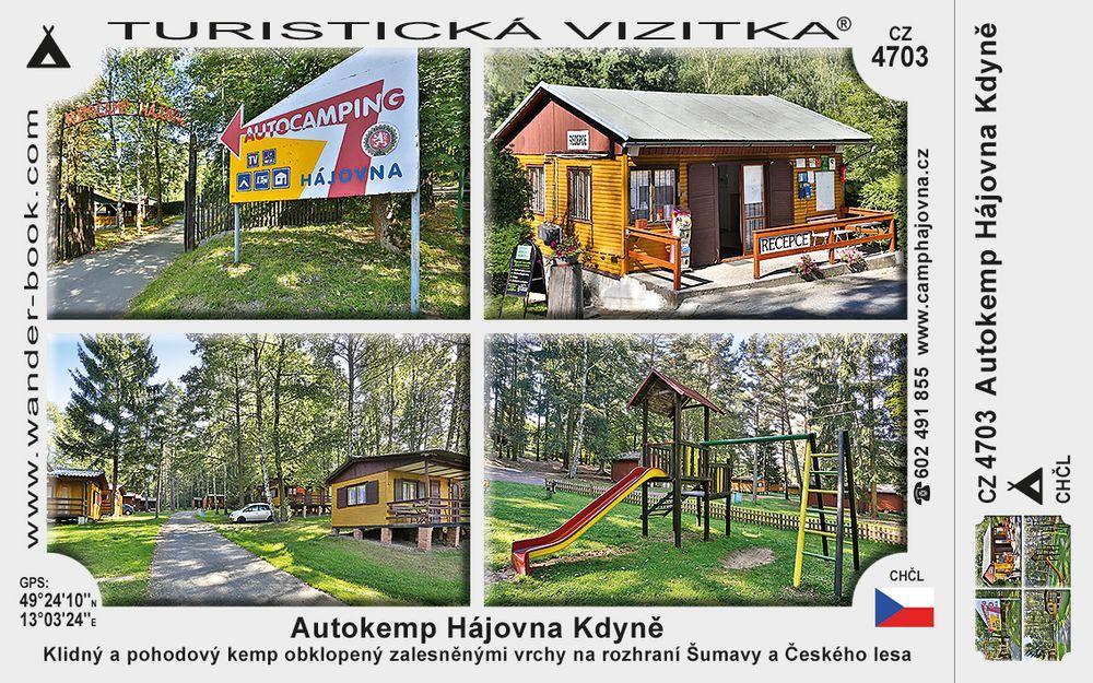 Autokemp Hájovna Kdyně