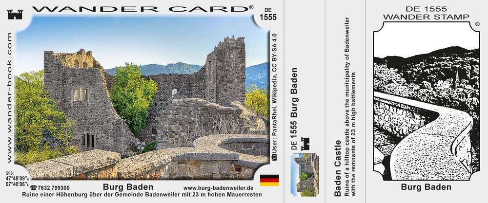 Badenweiler Burg