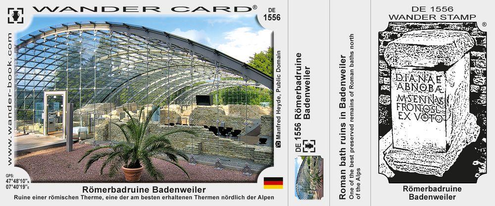 Badenweiler Romische Badruine