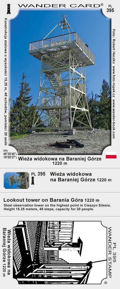 Barania Góra wieża widokowa