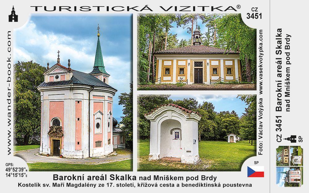 Barokní areál Skalka nad Mníškem p. Brdy