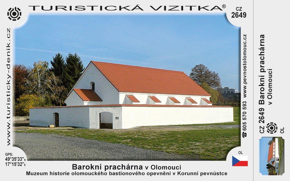 Barokní prachárna v Olomouci