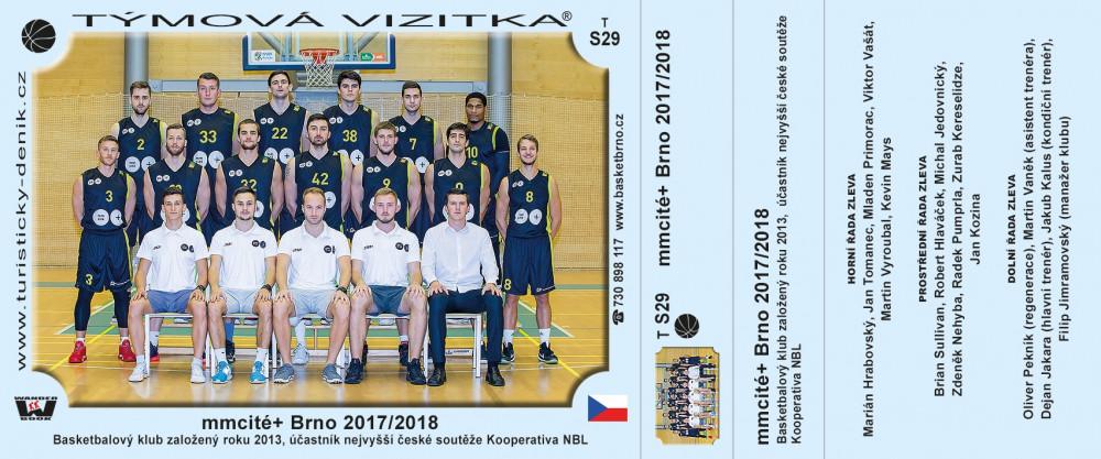egoé Basket Brno 2017/2018