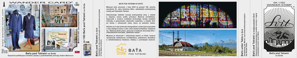 Baťa pod Tatrami vo Svite