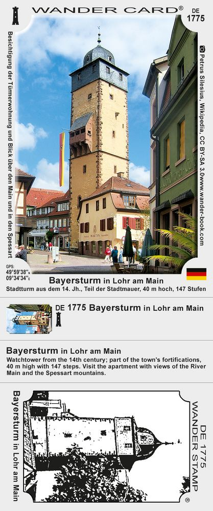 Bayersturm in Lohr am Main