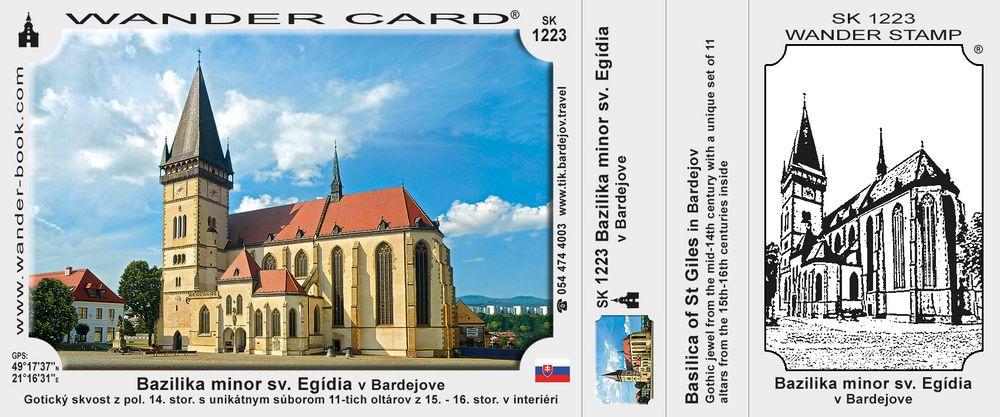 Bazilika minor sv. Egídia v Bardejove