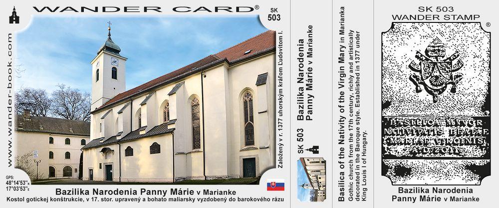 Bazilika Narodenia Panny Márie v Marianke