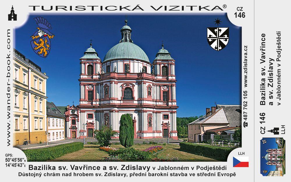 Bazilika sv. Vavřince a sv. Zdislavy v Jablonném p. J.