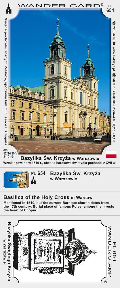 Bazylika Św. Krzyża w Warszawie