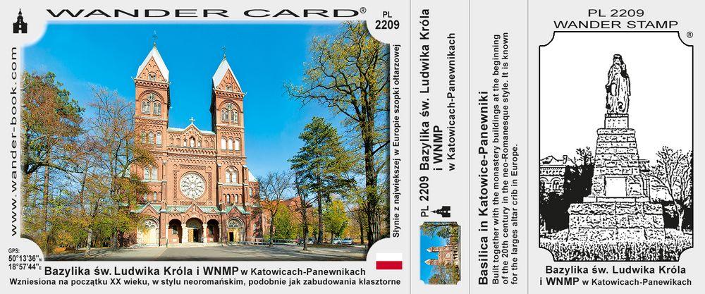 Bazylika św. Ludwika Króla i Wniebowzięcia NMP w Katowicach-Panewnikach