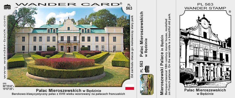 Będzin pałac Mieroszewskich