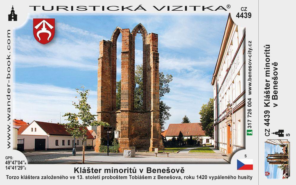 Benešov klášter