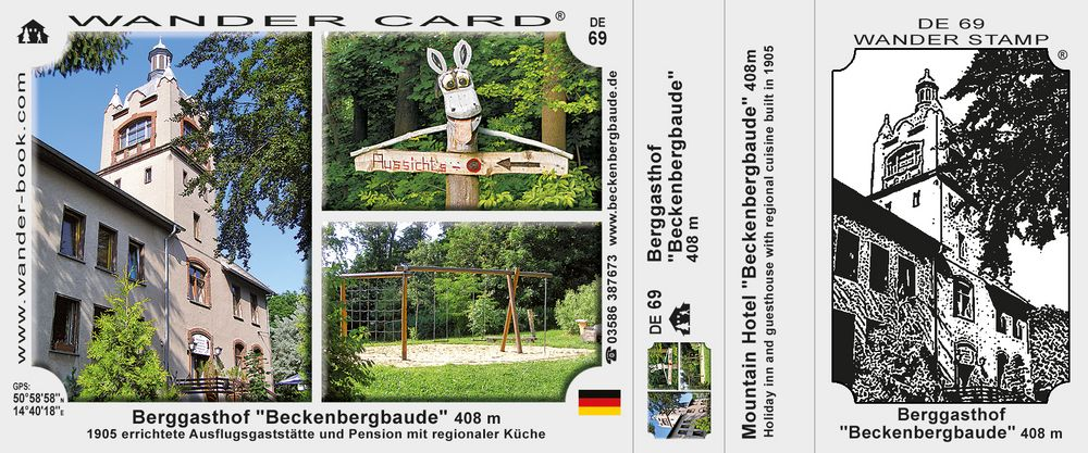 "Berggasthof ""Beckenbergbaude"""