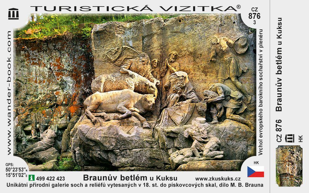 Braunův betlém u Kuksu