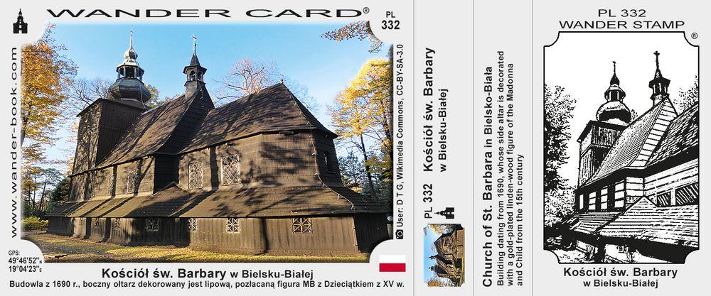 Bielsko-Biała kościół św Barbary