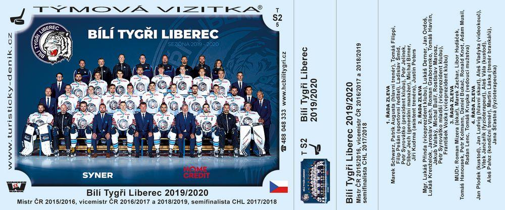 Bílí Tygři Liberec 2019/2020