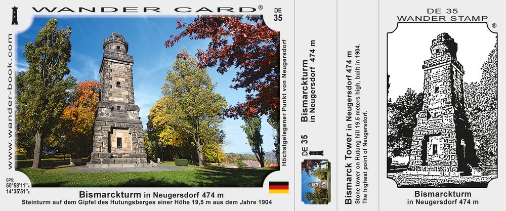 Bismarckturm in Neugersdorf