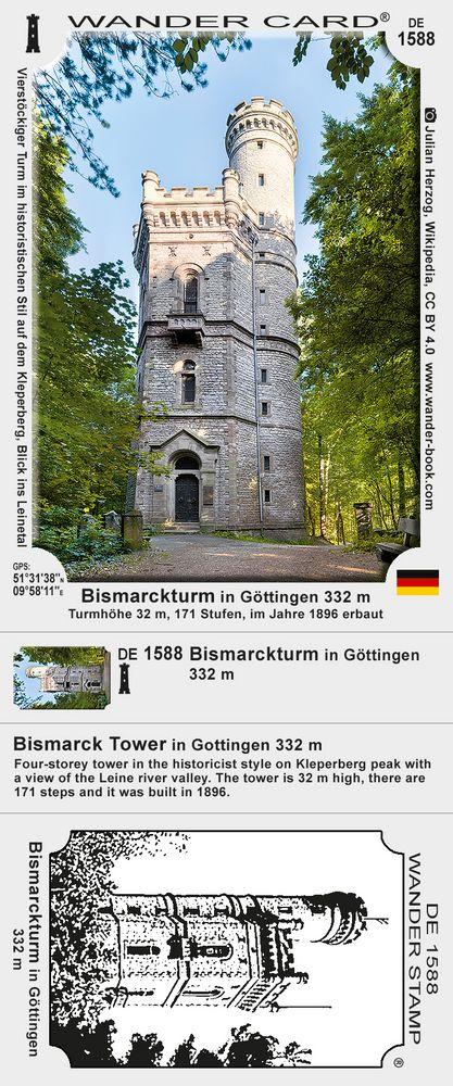 Bismarckturm in Göttingen