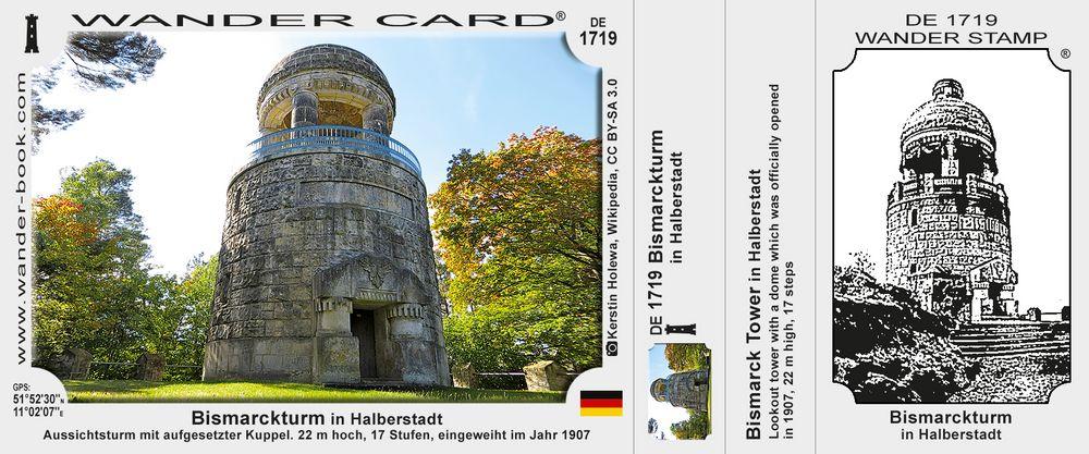 Bismarckturm in Halberstadt