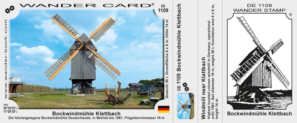 Bockwindmühle Klettbach