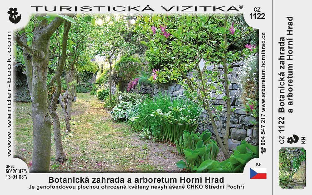 Botanická zahr. a Arboretum Horní Hrad