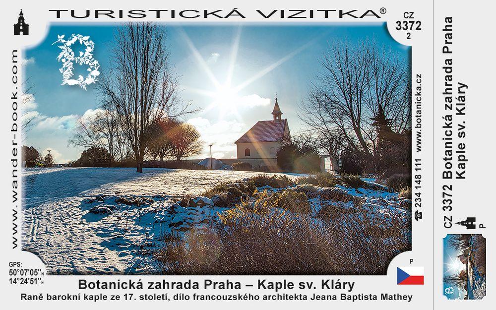 Botanická zahrada Praha – Kaple sv. Kláry