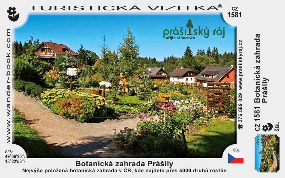Botanická zahrada Prášily