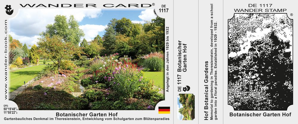 Botanischer Garten Hof