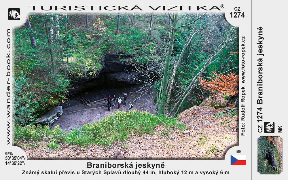 Braniborská jeskyně