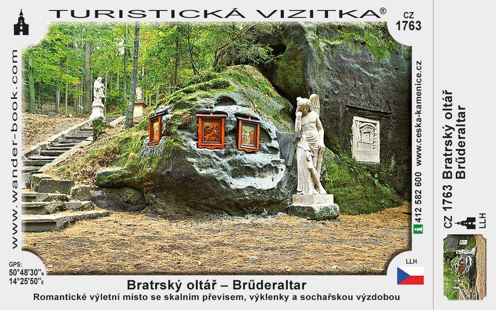 Bratrský oltář - Brűderaltar