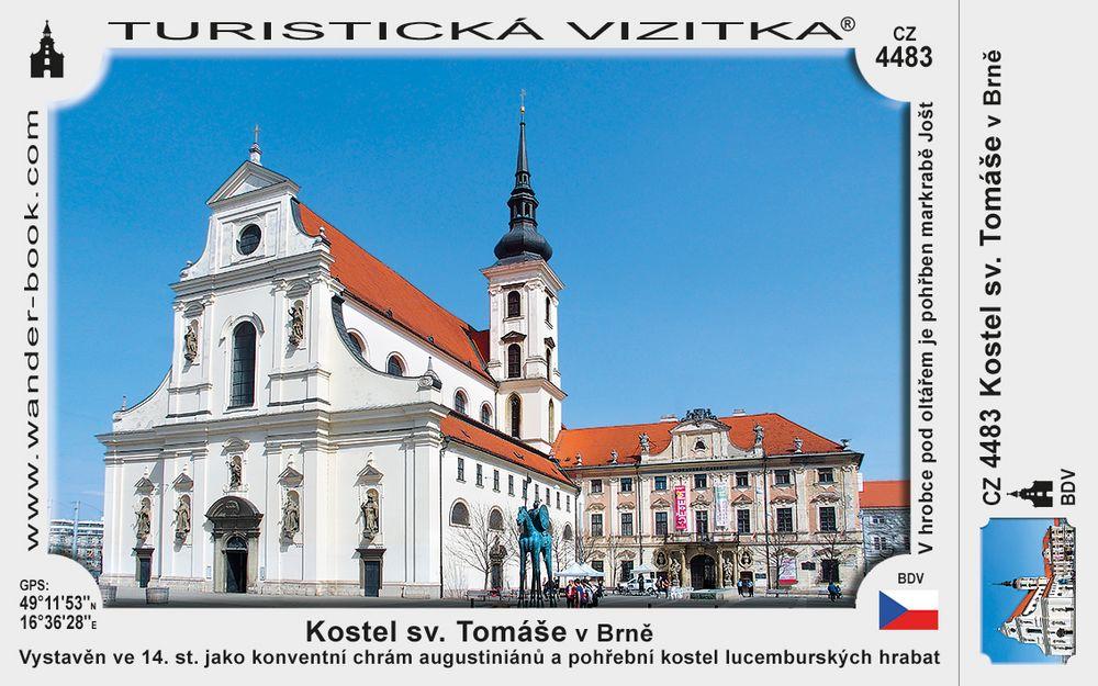 Brno kostel sv. Tomáše