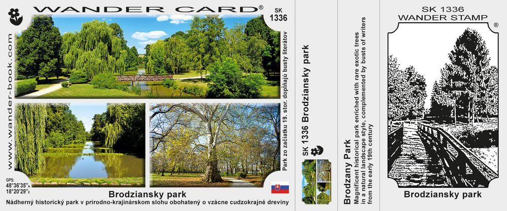 Brodziansky park