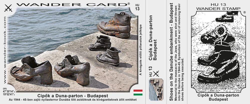 Budapest cipok emlekmu