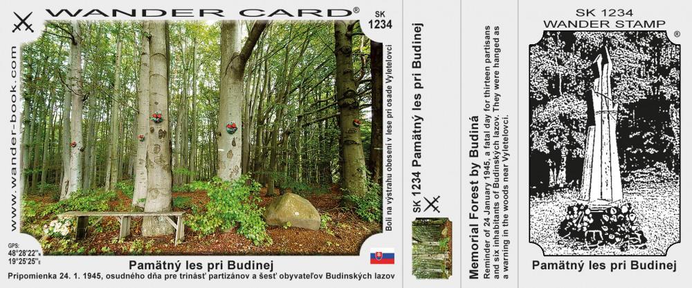 Pamätný les pri Budinej