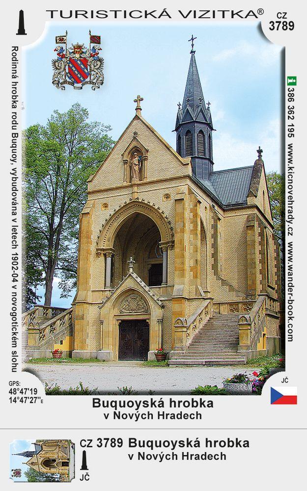 Buquoyská hrobka v Nových Hradech