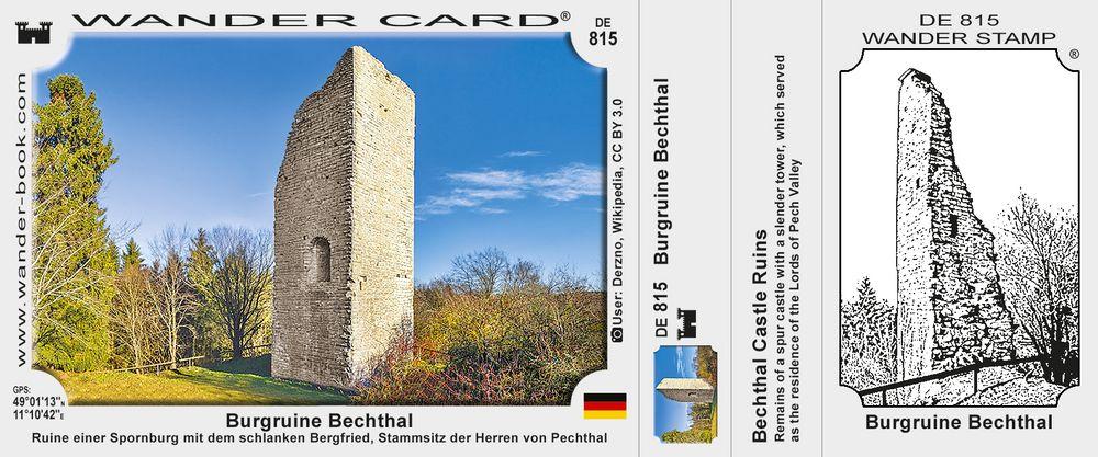 Burgruine Bechthal