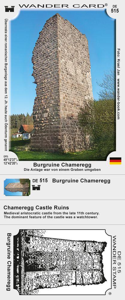 Burgruine Chameregg