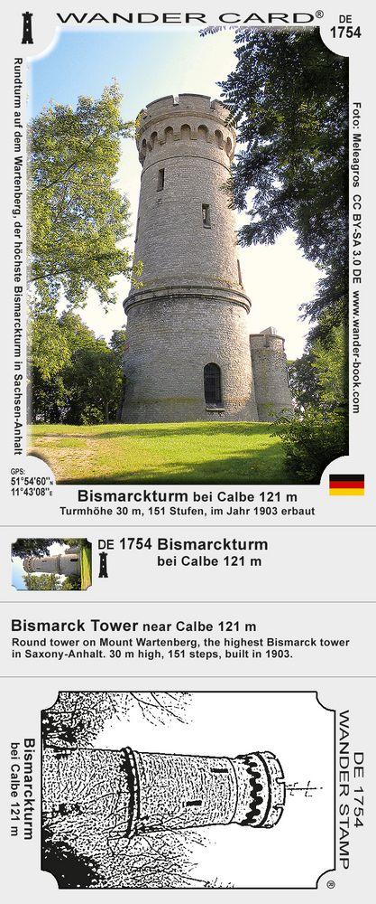 Bismarckturm bei Calbe