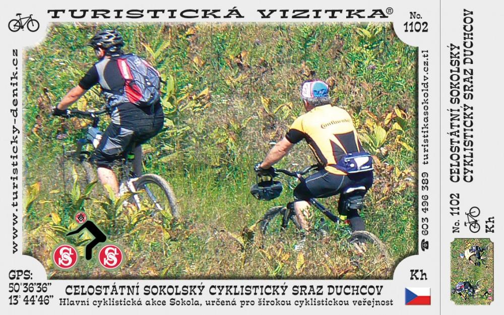 Celostátní sokolský cyklist. sraz Duchcov (8)