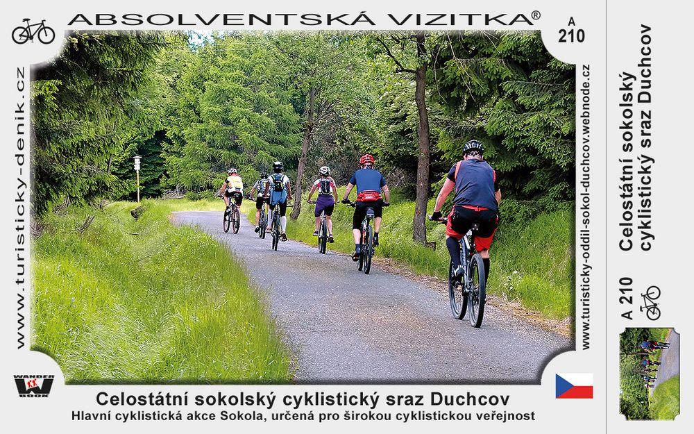 Celostátní sokolský cyklistický sraz Duchcov