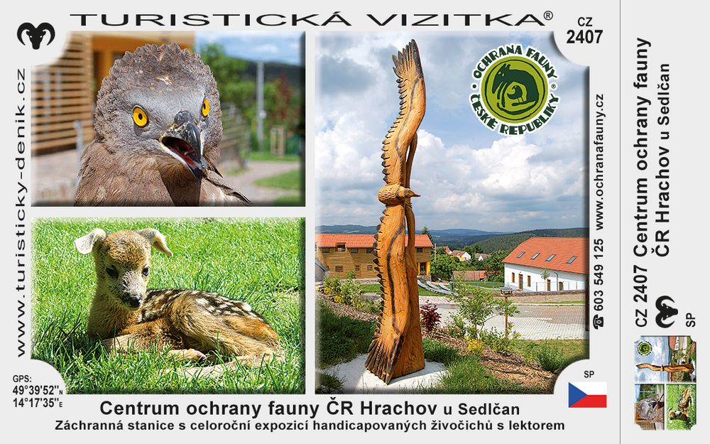Centrum ochrany fauny ČR Hrachov u Sedlčan