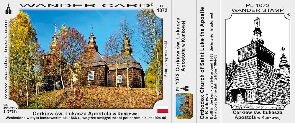 Cerkiew św. Łukasza Apostoła w Kunkowej